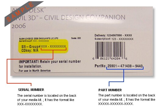 how to get a serial number for autocad